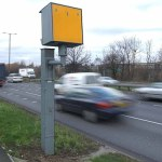 Pic. Hibbert   7-1-04Speed camera on the A40 westbound nr. Lynwood Rd. W5